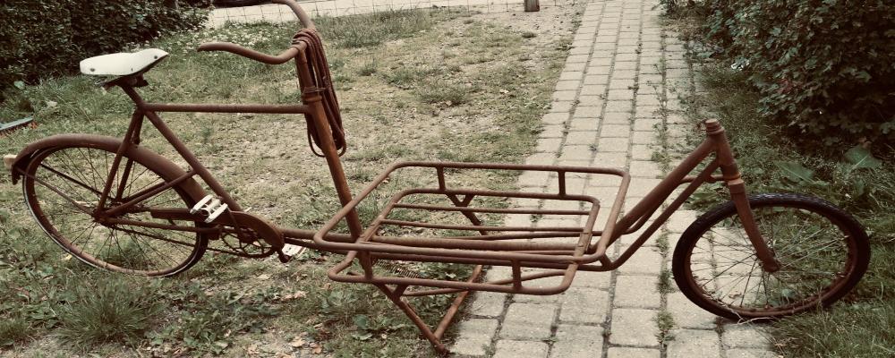 Denne cykel er mere end 60 år gammel..
